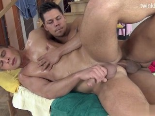 Sexy stepfather hard anal